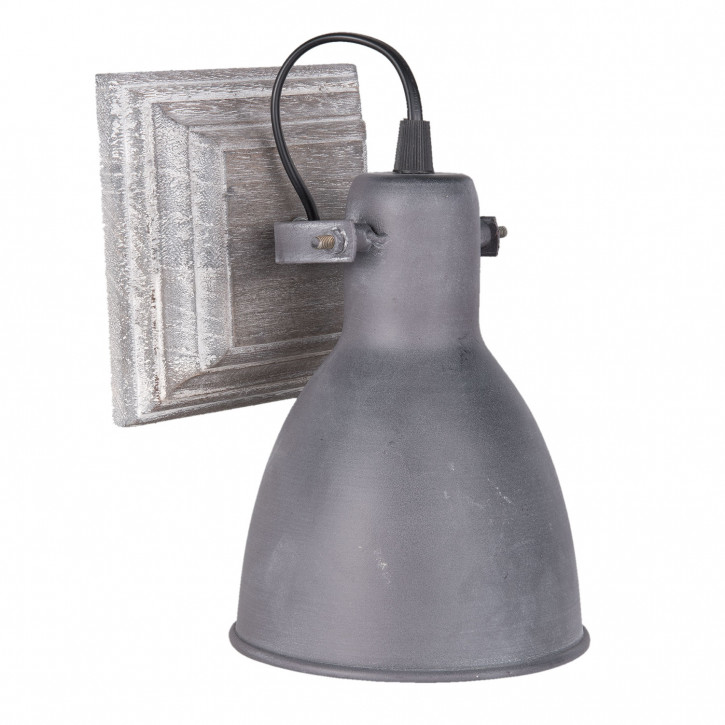 Wandlampe 13x22x13 cm E27 /max, 1x60Watt