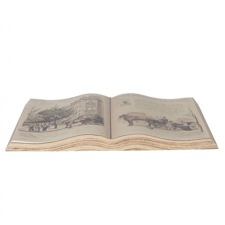 Dekoration Buch 48x28 cm