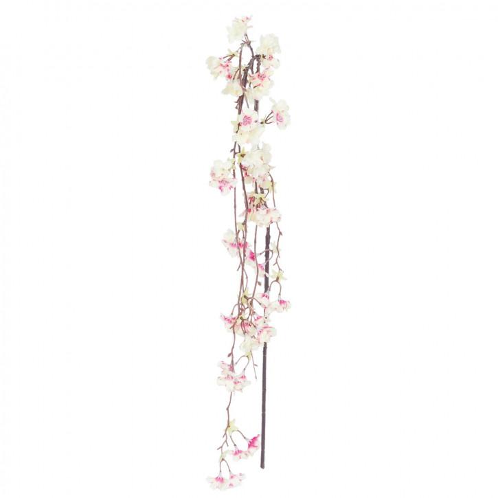 Kunstblume Kirschblüte Zweig rosa ca. 140 cm