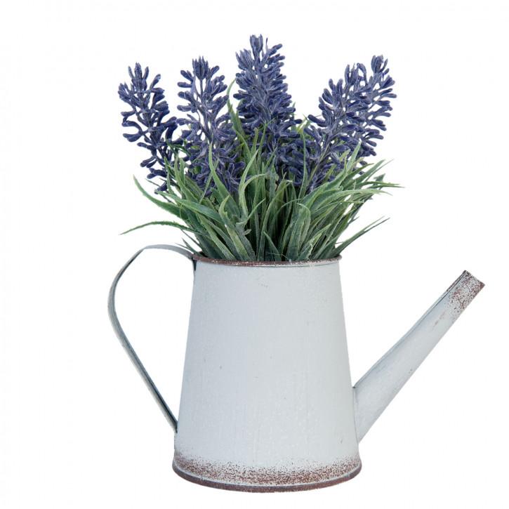 Kunstblume Lavendel im Topf 19 cm