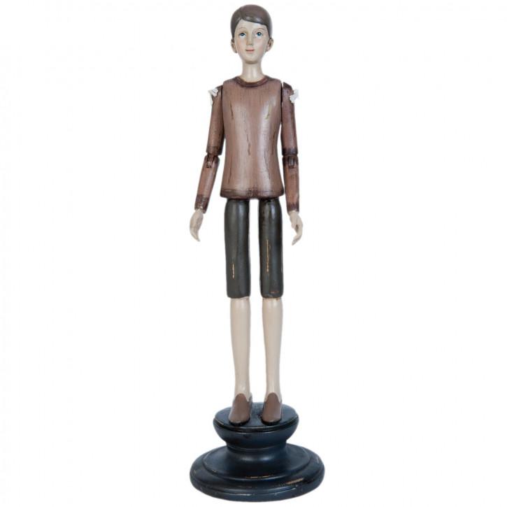 Figur Junge ca. 11 x 11 x 36 cm