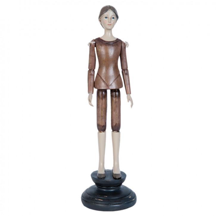 Figur Mädchen ca. 11 x 11 x 36 cm