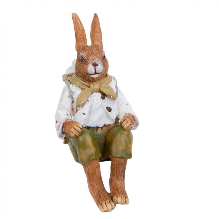 Dekofigur Kaninchen 12 cm