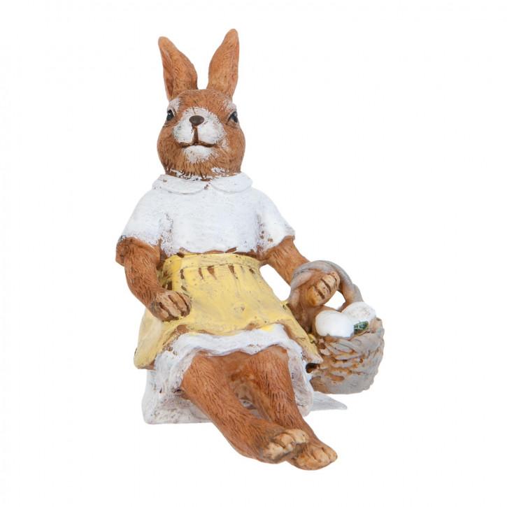 Dekofigur Kaninchen 10 cm
