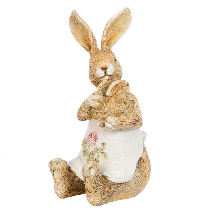 Decoration rabbit 14 cm