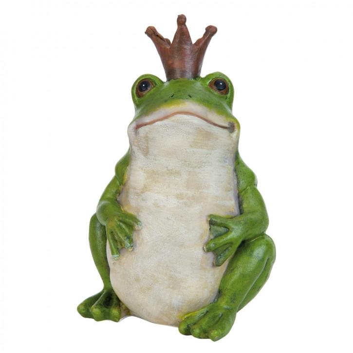 Decoration frog 16 cm