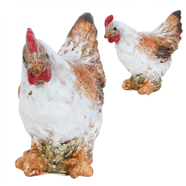 Decoration chicken 9 cm