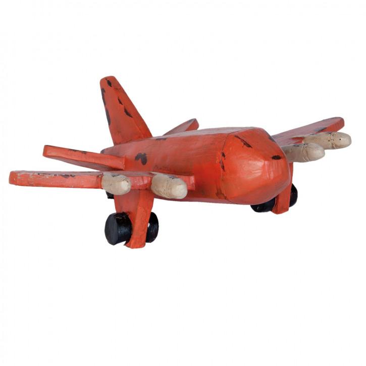 Flugzeug Modell rot ca. 35 x 11 x 28 cm