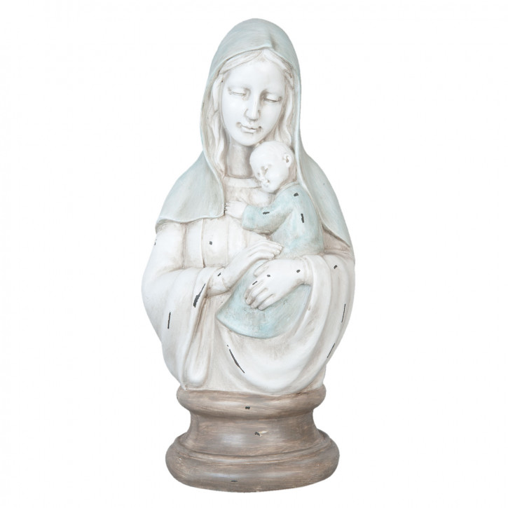 Mary statue 18x15x39 cm