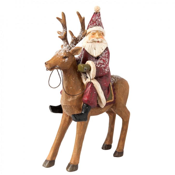 Dekofigur Santa 20x7x26 cm
