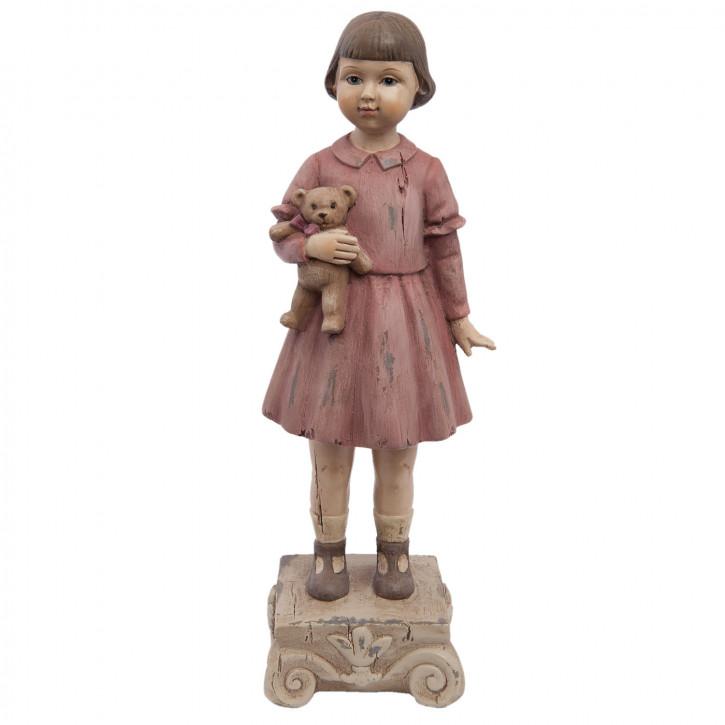 Dekofigur Mädchen 9x7x24 cm