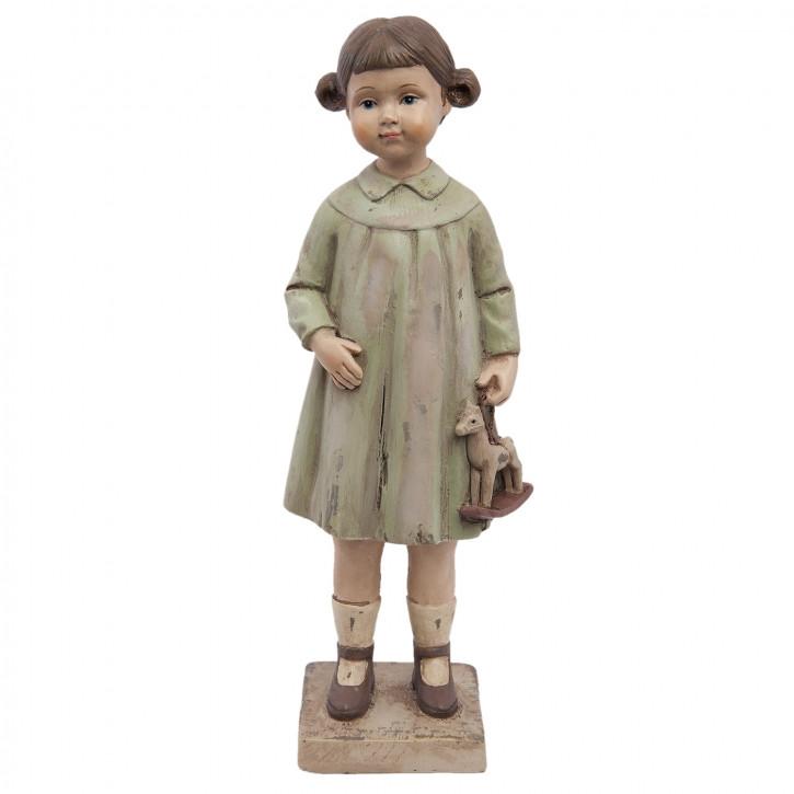 Dekofigur Mädchen 8x6x23 cm