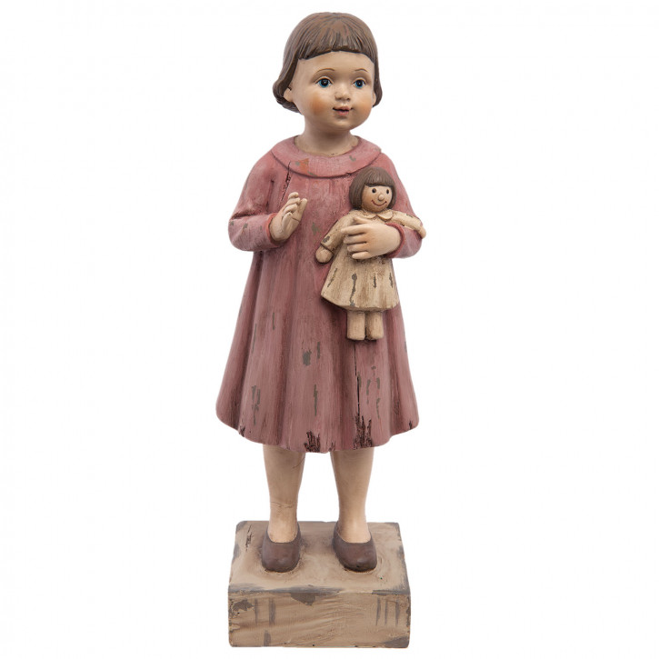 Dekofigur Mädchen 9x8x28 cm