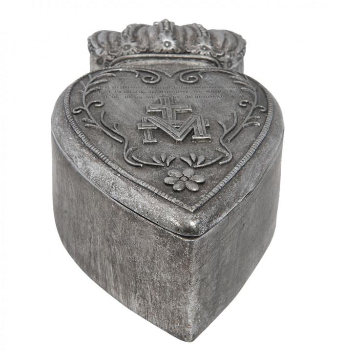 Schachtel heart 17x5x8 cm