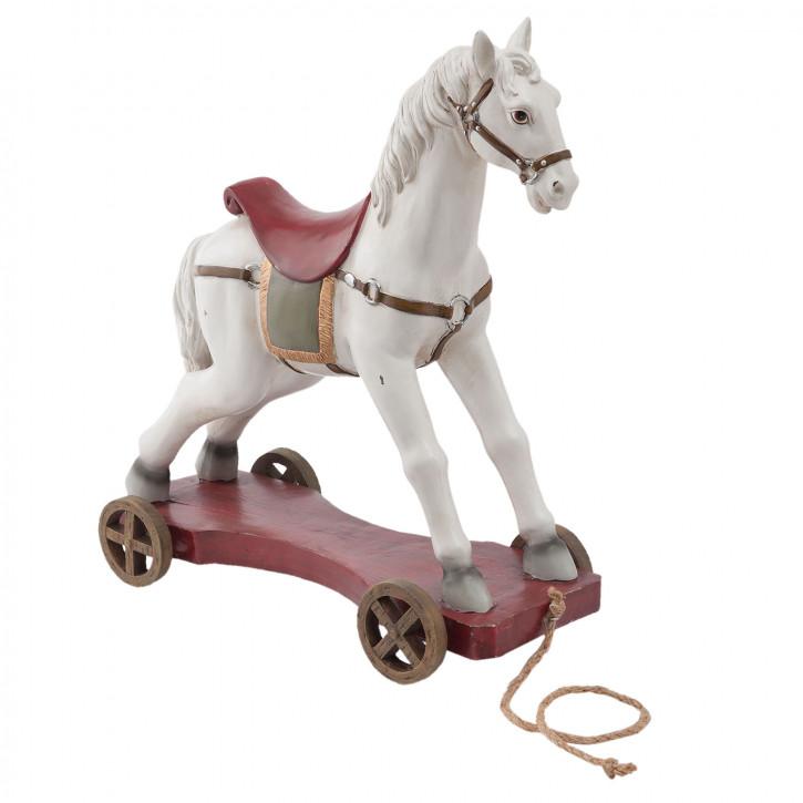 Dekofigur Pferd 41x16x43 cm