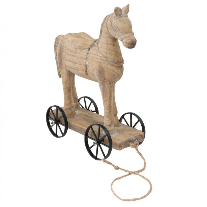 Dekofigur Pferd 15x7x19 cm