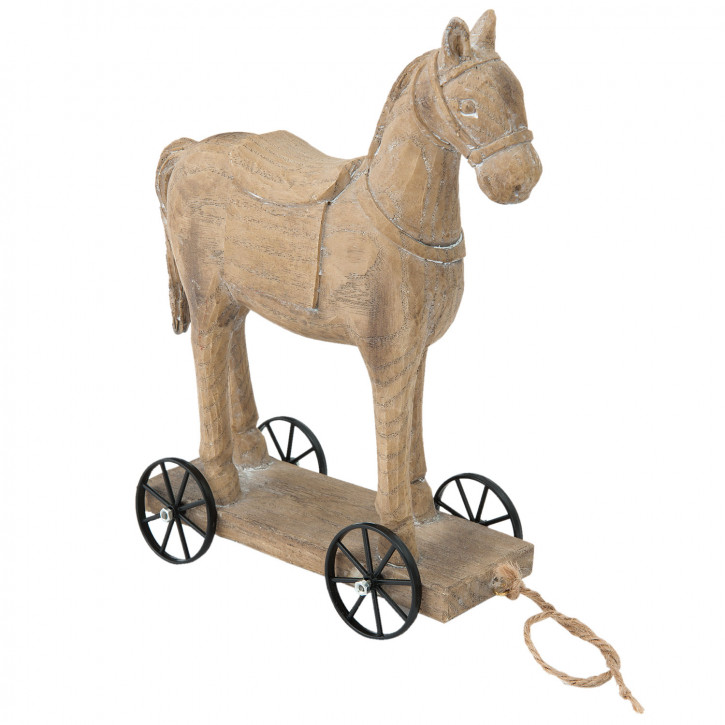 Dekofigur Pferd 18x8x23 cm