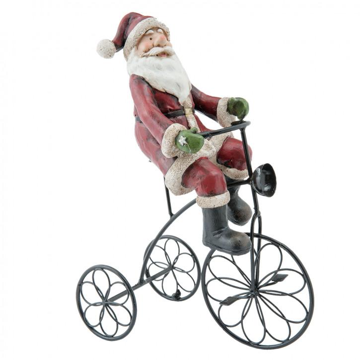Weihnachtsmann auf» 20x10x26 cm