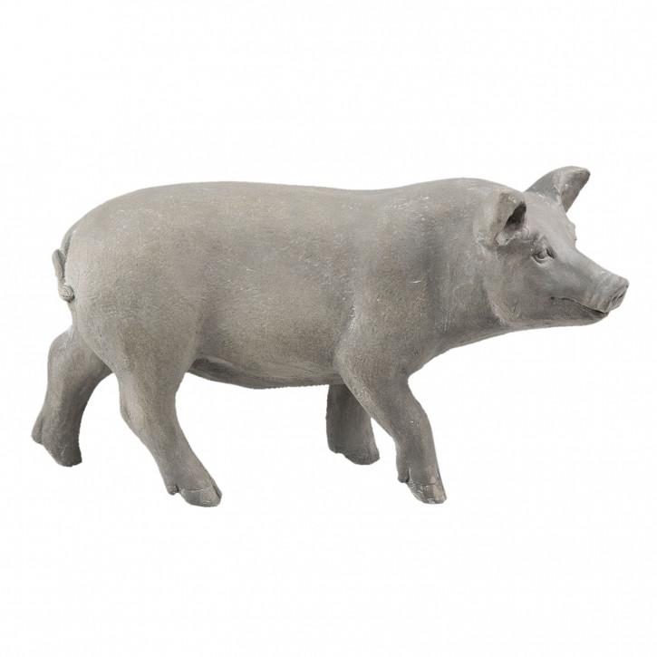 Dekofigur Schwein 61x26x33 cm