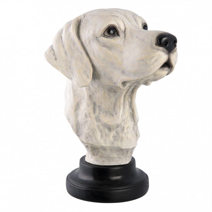 Büste Hund 21x24x30 cm