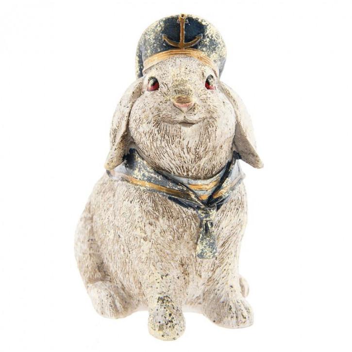 Kaninchen sitzend 16x11x18 cm