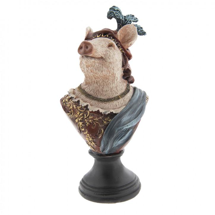 Dekoration Schwein 14x11x26 cm