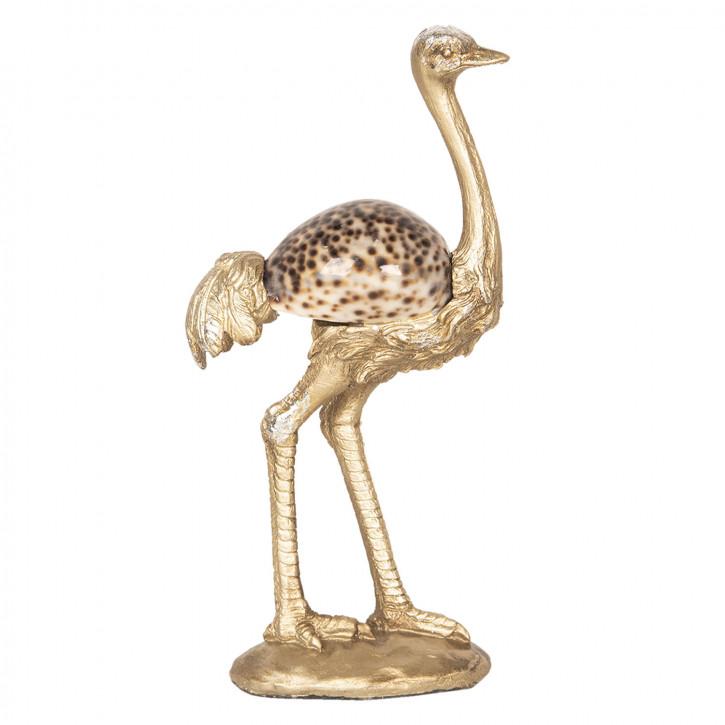 Dekoration Vogel Strauß 10x5x20 cm