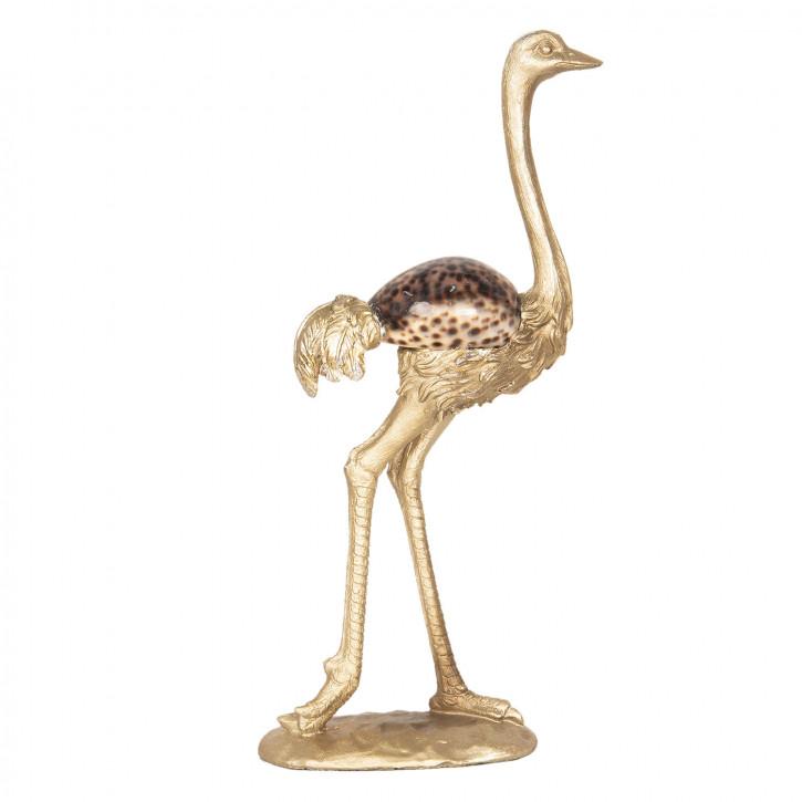 Dekoration Vogel Strauß 15x6x28 cm