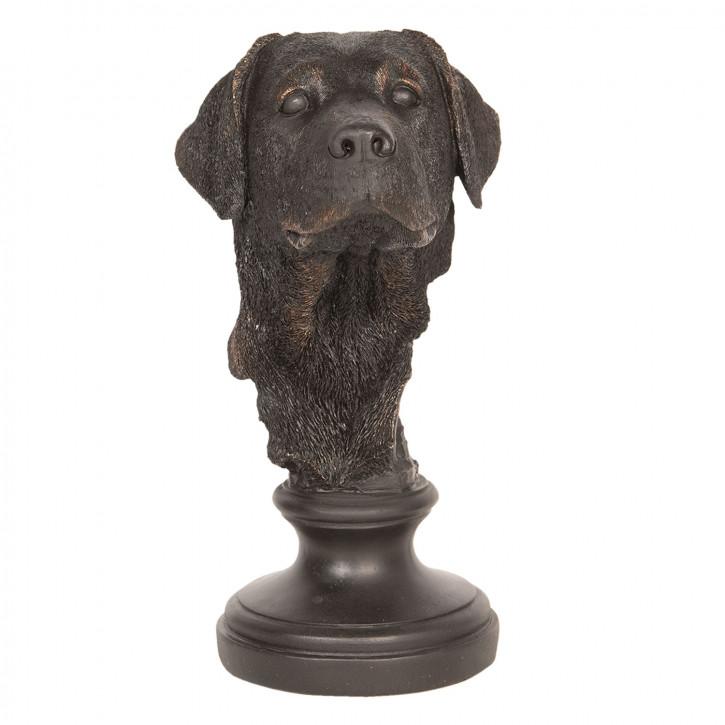Dekoration Hund 14x14x27 cm