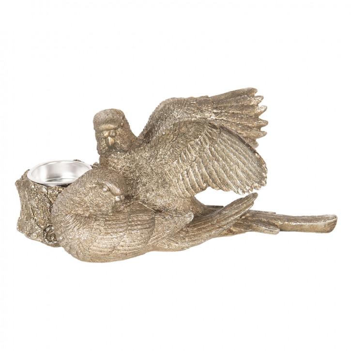 Kerzenständer Vogel 21x22x8 cm