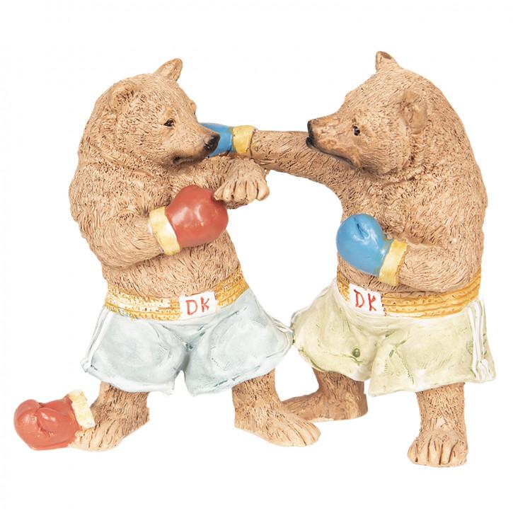 Dekoration Bären» 13x5x11 cm