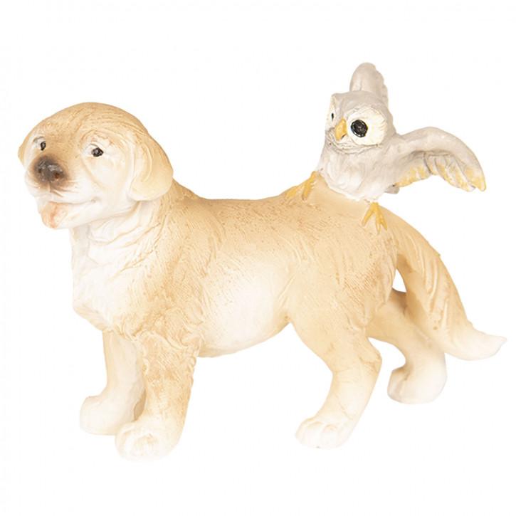 Dekoration Hund 9x4x6 cm