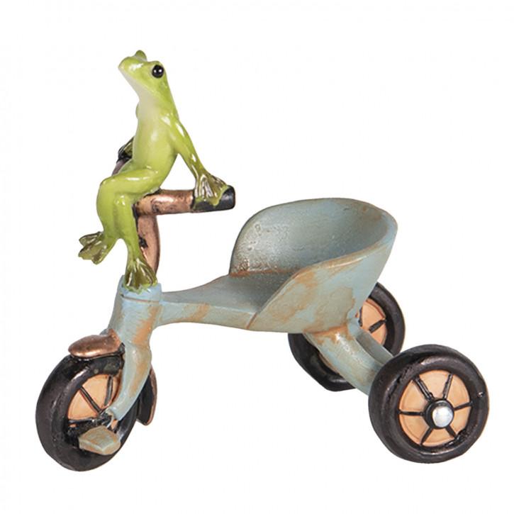 Dekoration Frosch» 8x6x8 cm