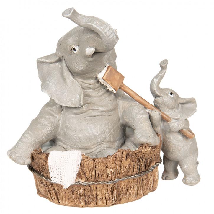 Dekoration Elefanten 13x9x13 cm