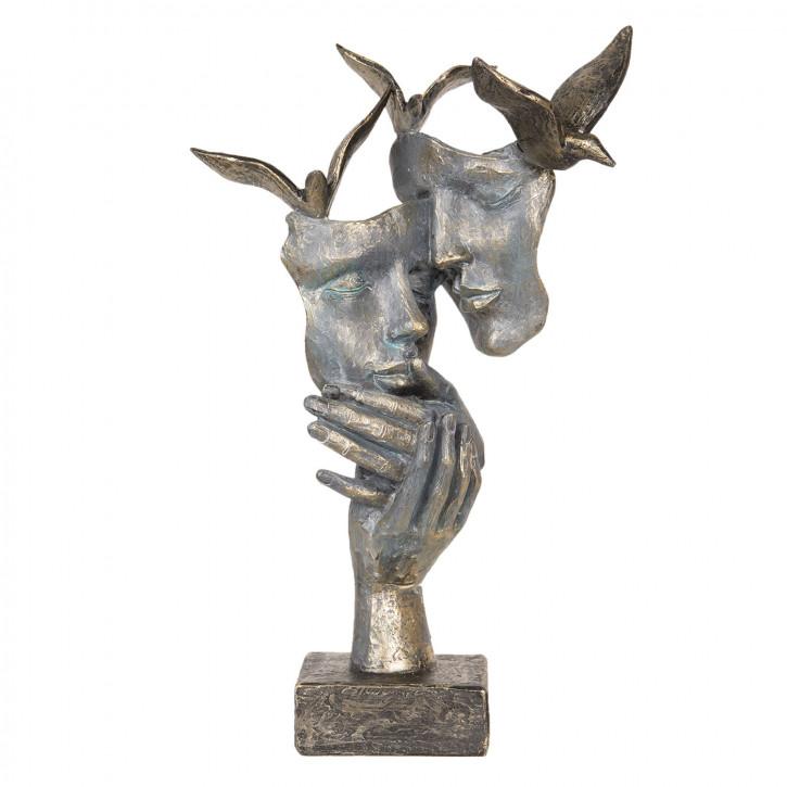 Dekoration Masken» 22x12x33 cm