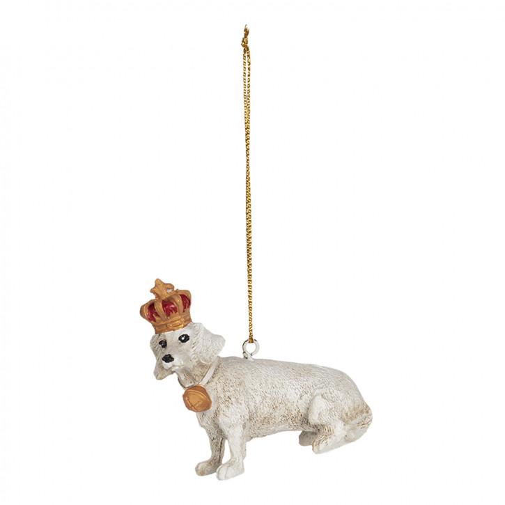 Dekoration Hänger Hund 7x3x7 cm