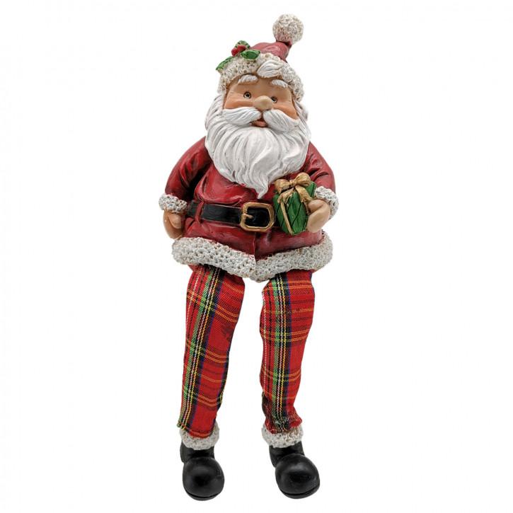 Dekoration Weihnachtsmann 7x7x10 cm