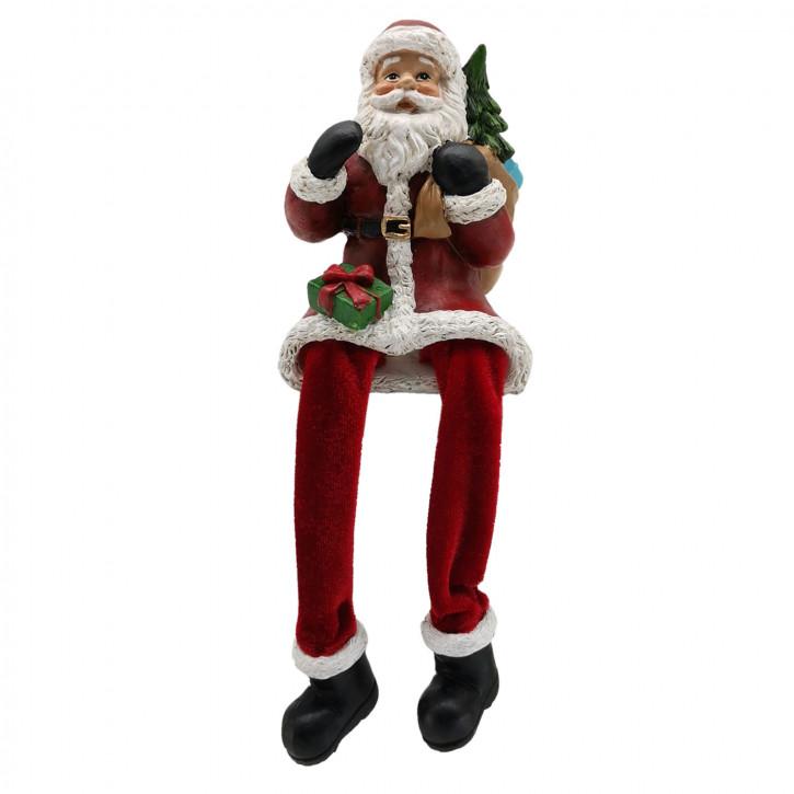 Dekoration Weihnachtsmann 8x8x10 cm