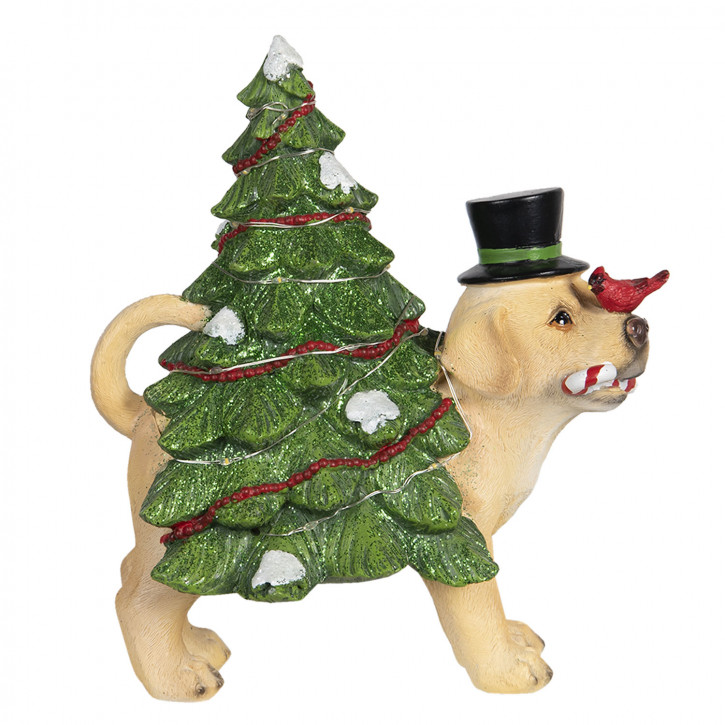 Dekoration Hund» 21x13x23 cm