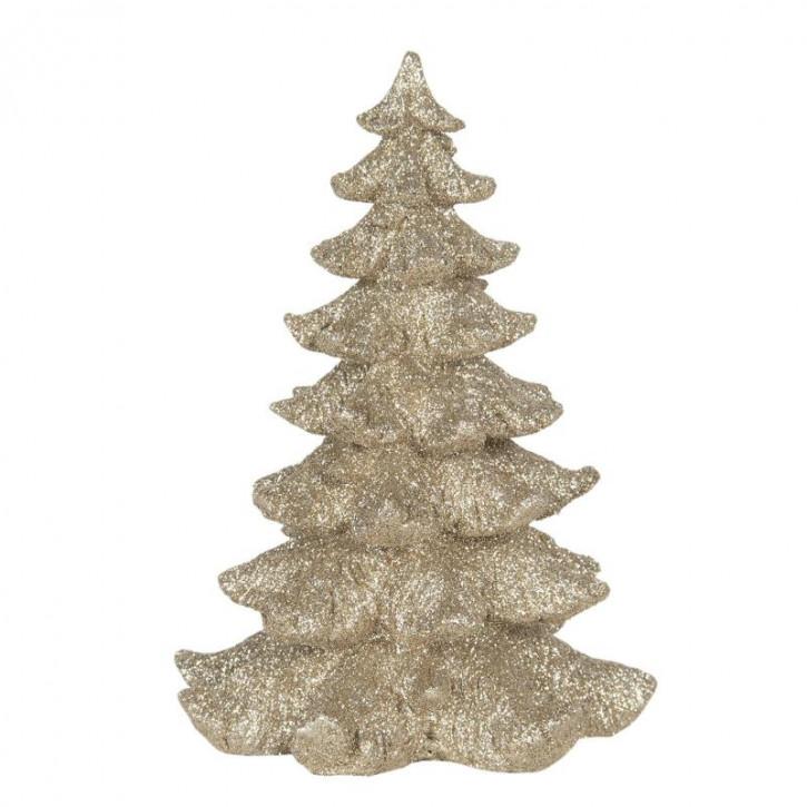 Dekoration Weihnachtsbaum 15x15x21 cm