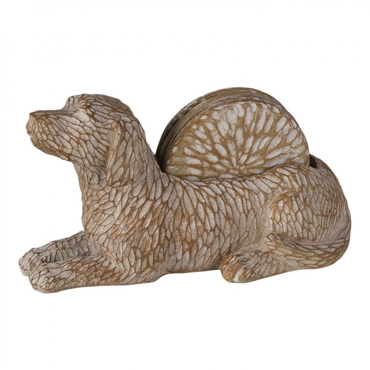 Dekoration Hund» 12x9x21 cm
