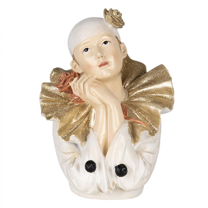 Dekoration Clown 11x11x15 cm