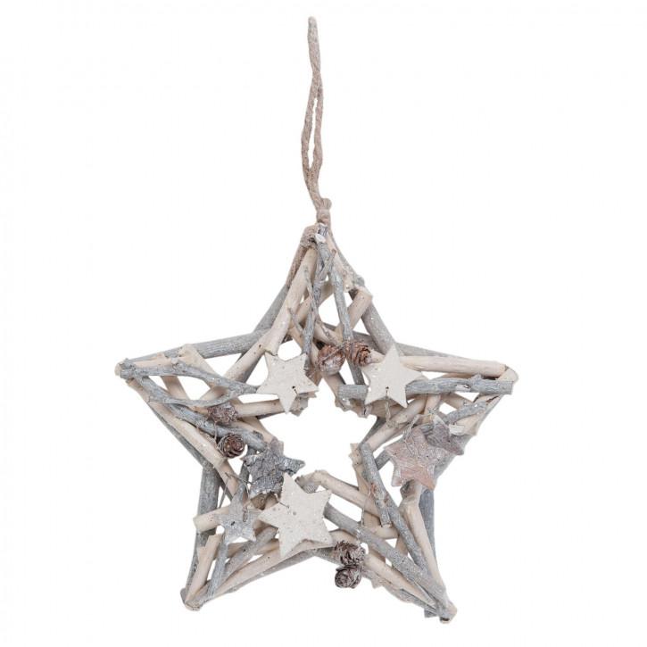 Dekoration star 25 cm