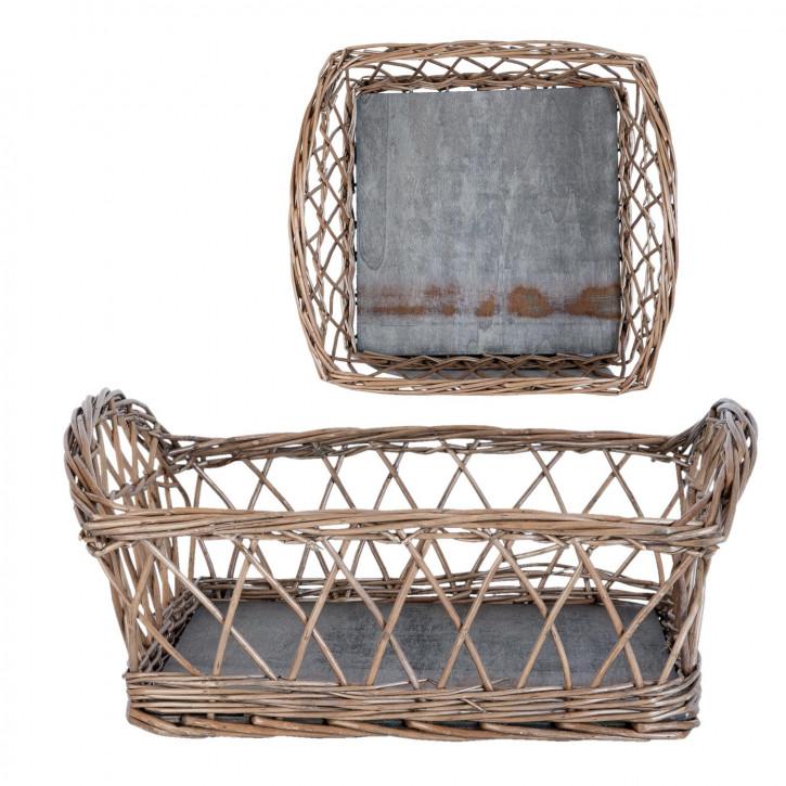 Basket 34x34x15 cm