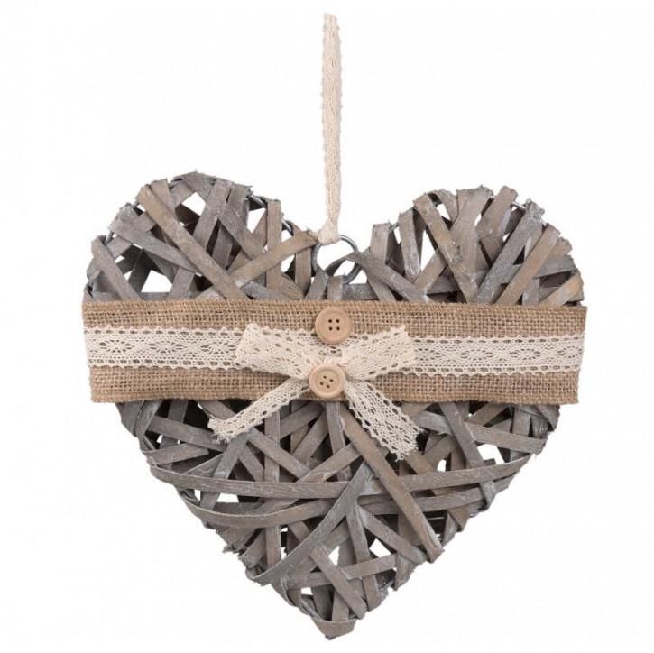 Girlande heart 25x25x3 cm