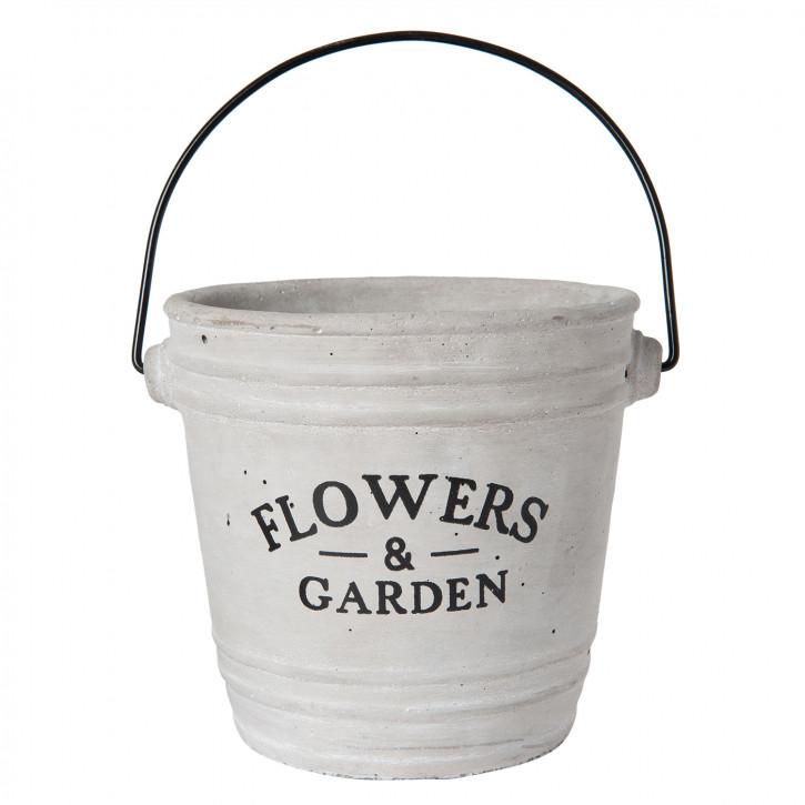 """Blumentopf """"Flowers & Garden"""" Ø 14x14 cm"""