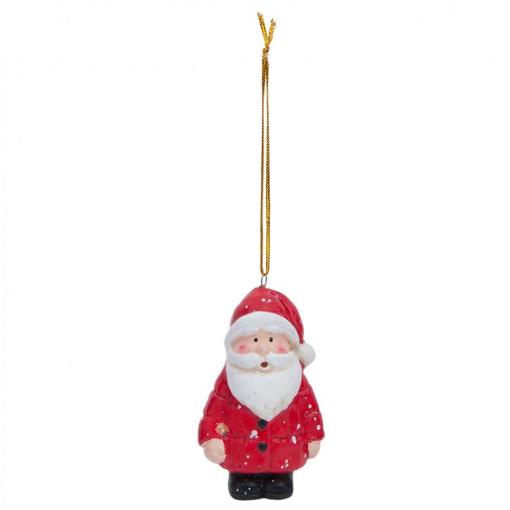 Hängedekoration Santa 5x4x8 cm