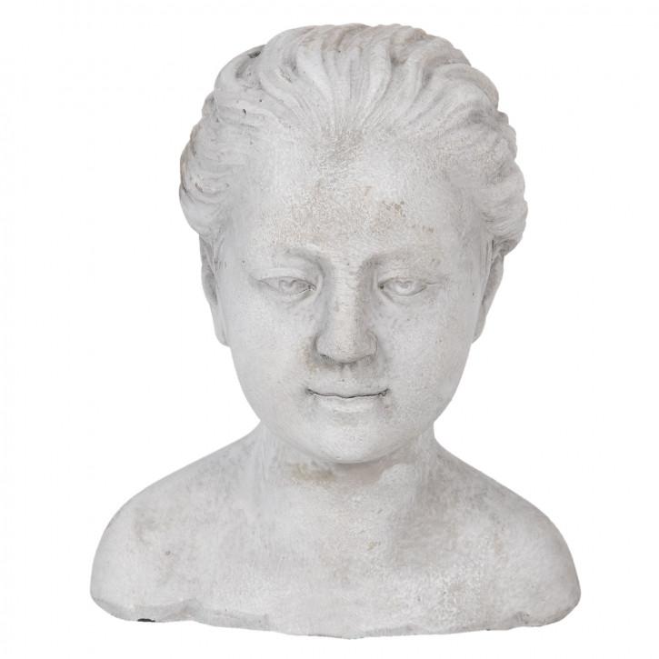 Dekoration Kopf Frau 17x16x20 cm