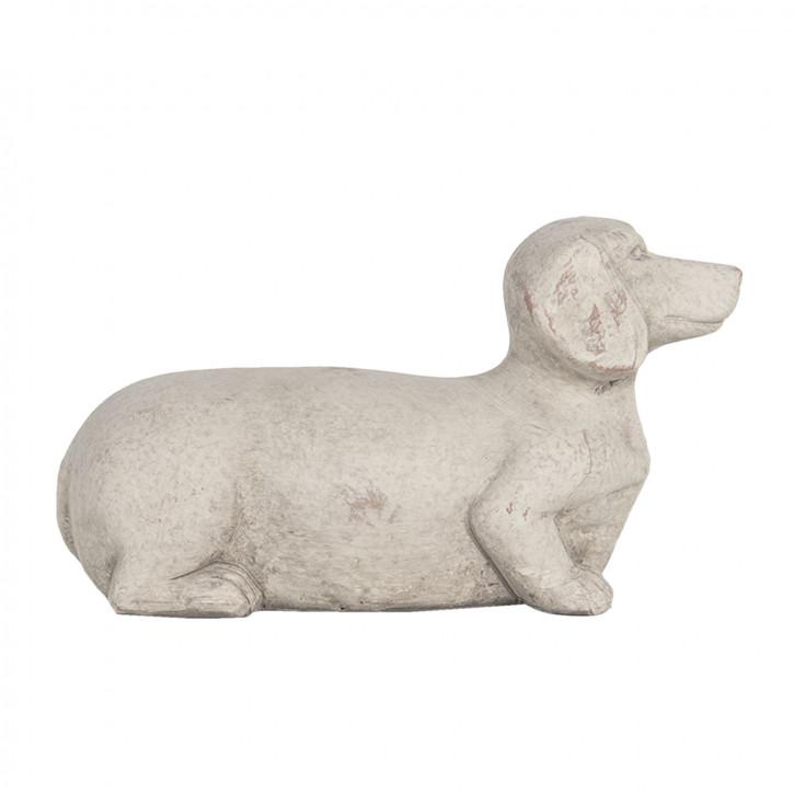 Dekoration Hund 24x9x13 cm