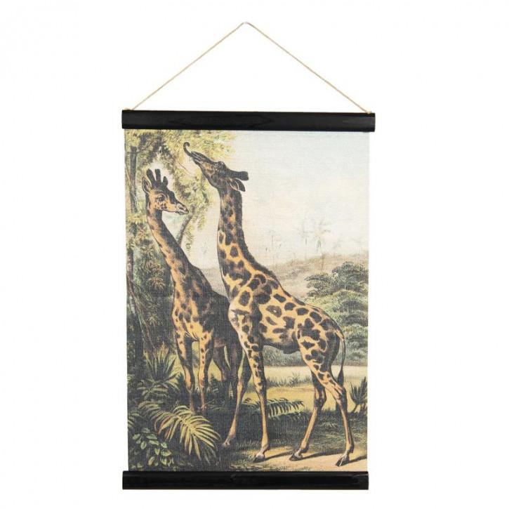 Wandkarte Tiere 40x2x60 cm